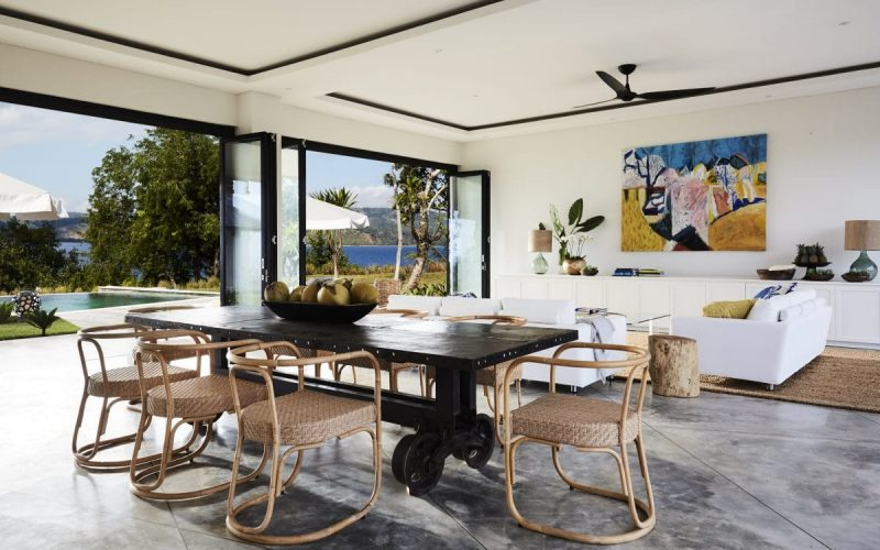 Open plan living:dining w views4 copy